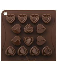 Wonderchef Chocolove Mould,  brown