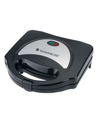 Wonderchef Prato Sandwich Maker 750W,  black