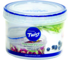 Lock and Lock Twist Container 360Ml LLS121, multicolor