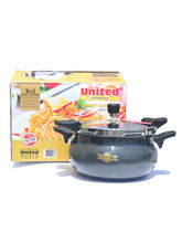 United 5 Litre Smart Cooker Hard Anodised 3 in 1, multicolor