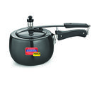 Padmini Induction Base Hard Anodized Cookplus IC, black, 5 ltr