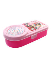 SKI Feast Blue Lunch Box, pink