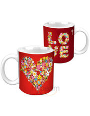 Love Flower HD Mug