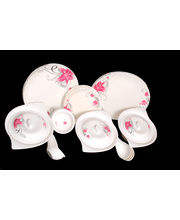 Lifestyle 40 Pcs Melamine Dinner Set LE-PG-005, Multicolor