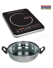 Platina Induction Cooker with Kadai