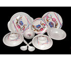 Choice 32 Pcs Melamine Dinner Set LE-CH-008, multicolor