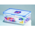 Lock and Lock Rectangular Short Container 1L HPL817, multicolor