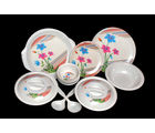 Choice 32 Pcs Melamine Dinner Set LE-CH-009, multicolor
