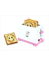 WAMA Toaster 2 Slice Pop Up Happy Moments With Smi...