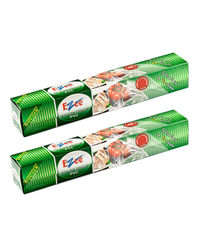 Ezee Cling Film Shrinkwrap 30 Mtr 12 Inches Width Pack Of 2, transparent