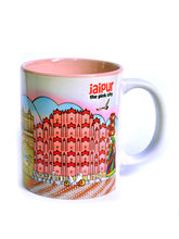 Indiavibes Coffee Tea Jaipur Theme Printed Ceramic...