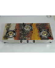 Advanta Premium Vetra Spice 3 Burner Glass top Gas...