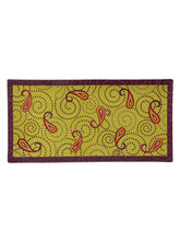 Polka Paisley Platters Set Of 2, Multicolor