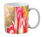 meSleep Flowers Mug, red