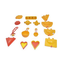 DS 15 Pcs Mould Combo Modak Kachori Samosa Cutlet Karanji Ladoo Prasad Scoop Cutter, multicolour