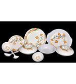 Richlook 33 Pcs Melamine Dinner Set LE-RL-001, multicolor