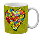meSleep Heart Mug, multicolor