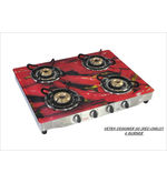 Advanta Premium (Chilly) 4 burner Gas Stove (Multicolor)