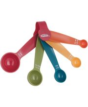Wonderchef Trudeau Measuring Spoons Set/5 Pcs 995887 By Chef Sanjeev Kapoor, Multicolor