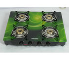 Advanta Premium Vetra Galaxy 4 Burner Glass top Gas Stove with Automatic Ignition, multicolor