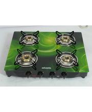 Advanta Premium Vetra Galaxy 4 Burner Glass top Gas...