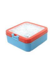 SKI Tin - Tin Game Lunch Box, blue