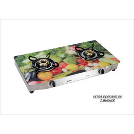 Advanta Premium Vetra SS Vegetable 2 Burner Gas Cooktop