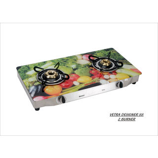 Premium Veg AI 2 Burner Gas Cooktop