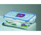 Lock and Lock Rectangular Short Container 550Ml HPL815, multicolor