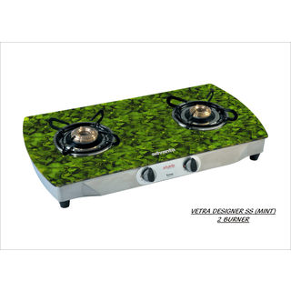 Premium Mint AI 2 Burner Gas Cooktop