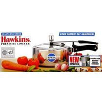 Hawkins Induction Based Stainless Steel Pressure Cooker   3L