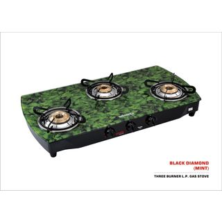 Premium Mint Gas Cooktop (3 Burner)