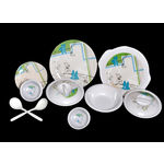 Choice 32 Pcs Melamine Dinner Set LE-CH-003, multicolor