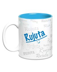 Me Graffiti Mug - Rujuta, multicolor
