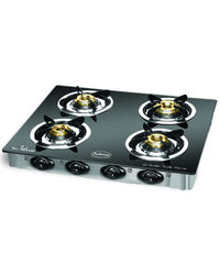 Padmini 4 Burner Gas stove - CS4GT CLOUD PLU, multicolor