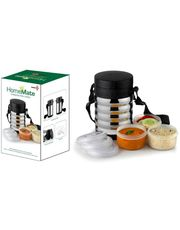 Power Plus Home Mate Lunch Box-Spiral(3 Containers)