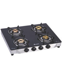 Quba 4 Burner Gas Stove Manual G-402, multicolor