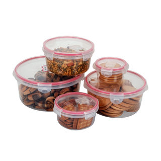 Storage Container Set of 5 Pcs and Transparent