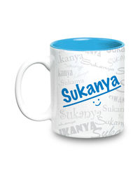 Me Graffiti Mug - Sukanya, multicolor