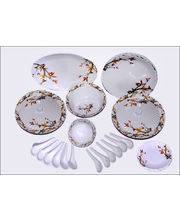 Oromax Melamine Dinner Set Of 44 Pcs LE-ORM-003, Multicolor