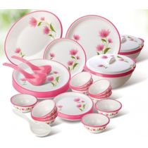Nayasa Round Dinner Set Printed 32 Pcs