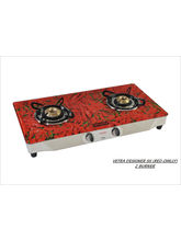 Advanta Premium (Chilly) 2 Burner Gas Stove (Multicolor)