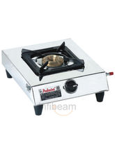 Padmini CS-101 Single Burner Gas Stove (Silver)