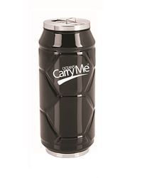 CarryMe Stylo Sports Thermo Can 400 ml,  black