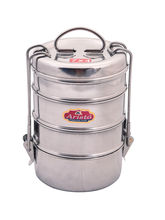 Aristo Tiffin 400 ml Stainless Steel container, silver