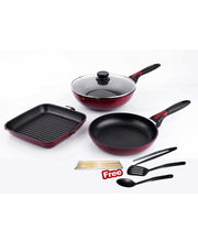 Wonderchef Click Space Saver Set By Chef Sanjeev Kapoor, Multicolor