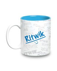 Me Graffiti Mug - Ritwik, multicolor