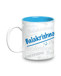 Me Graffiti Mug - Balakrishna, multicolor