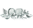 PNB Set Of 63 Pcs Matt Finish Dinner Set, multicolor