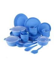 Trust Dinner Set of Fifty Pcs TR 24, blue